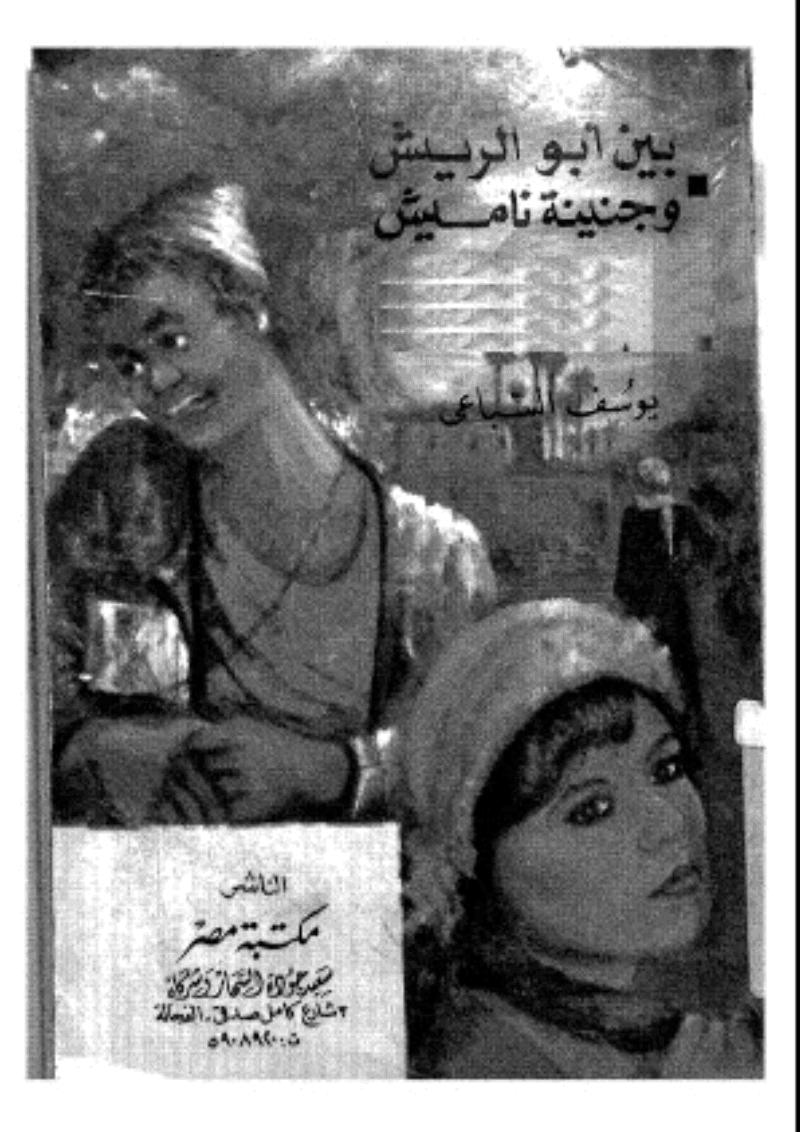 صورة كتاب بين أبو الريش وجنينة ناميش – يوسف السباعي