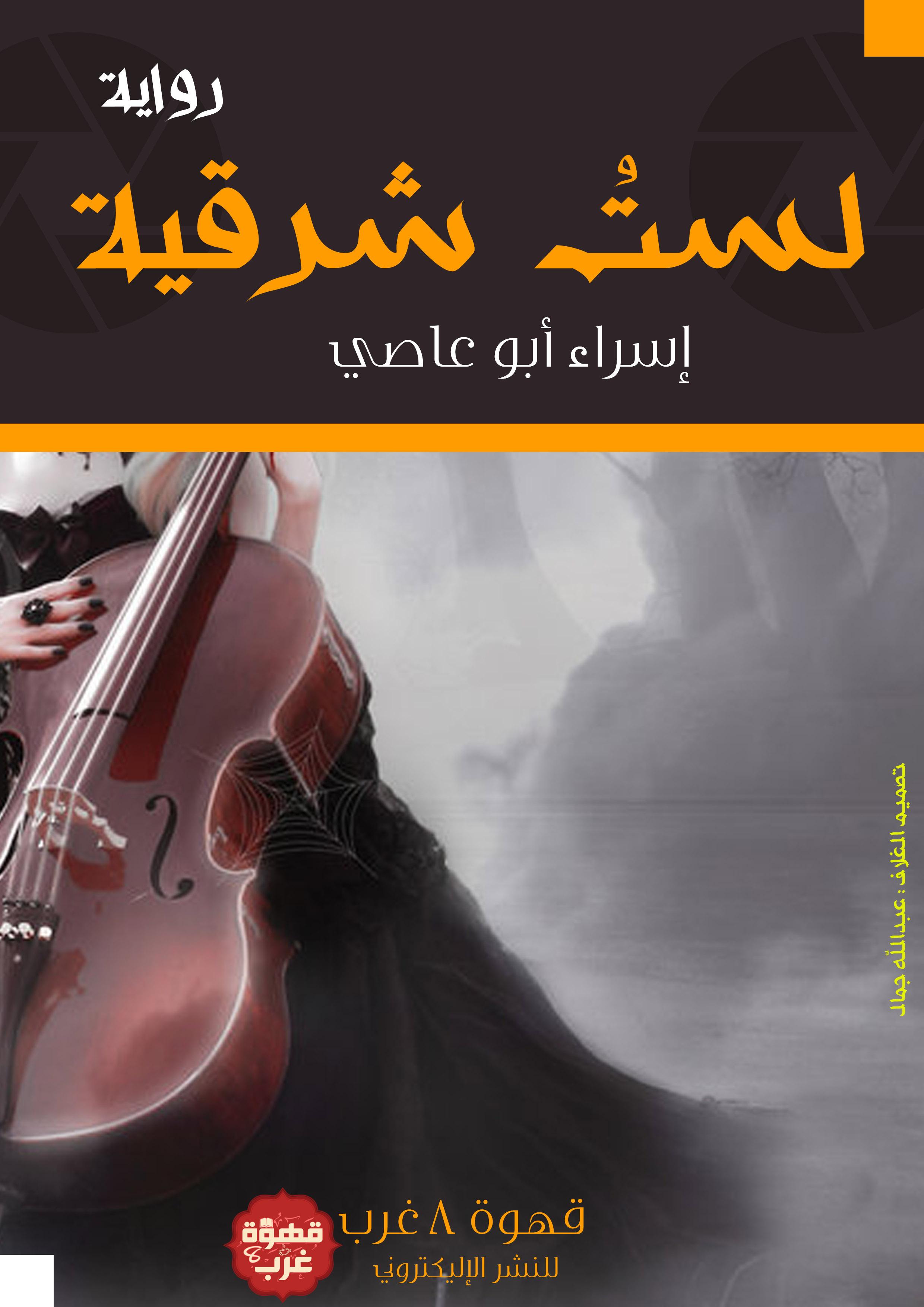 صورة رواية لست شرقية – إسراء أبو عاصى