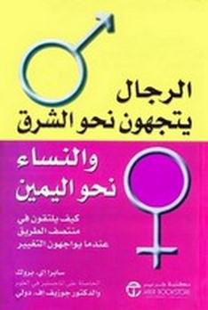 صورة كتاب الرجال يتجهون نحو الشرق والنساء نحو اليمين – سابرا إى. بروك وجوزيف إف. دولى