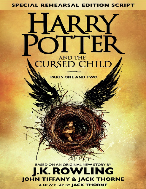 صورة رواية Harry Potter and the Cursed Child – ج. ك. رولينج