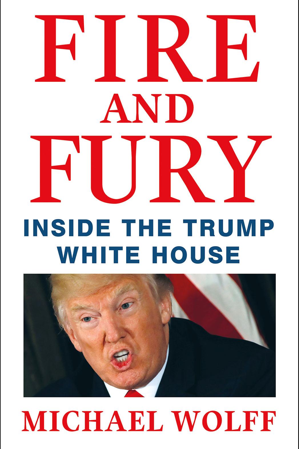 صورة كتاب نار وغضب (Fire and Fury) – مايكل وولف
