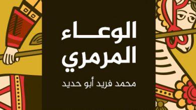 صورة رواية الوعاء المرمري – محمد فريد أبو حديد