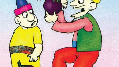 صورة قصة جحا والباذنجان (سلسلة نوادر جحا للأطفال 54)